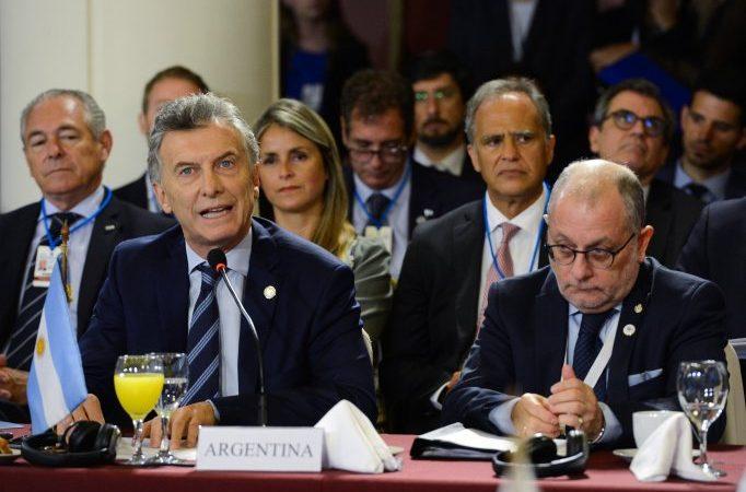 Mauricio Macri: «El acuerdo con la UE va a impactar positivamente en la calidad de vida de la gente»