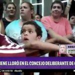 Niño tucumano llorando a los gritos: nos morimos de hambre
