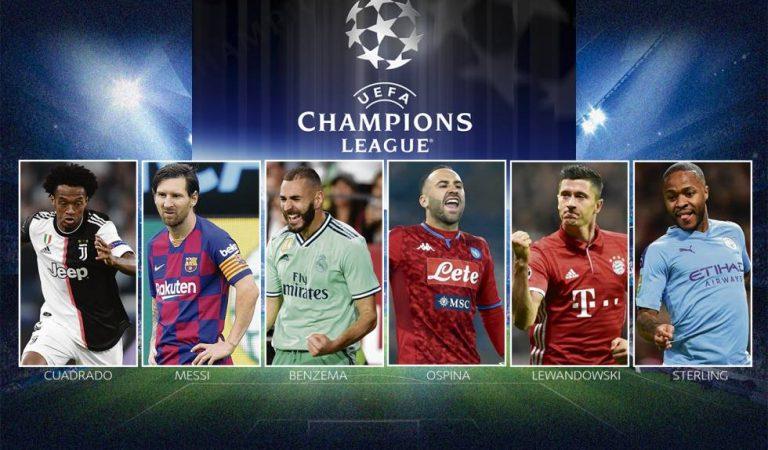 Vuelve la Champions League con dos grandes partidos
