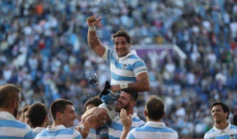 Juan Manuel Leguizamón emocionó a todos en su despedida de Los Pumas