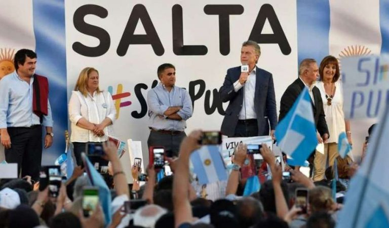 Macri en Salta: «Hemos recuperado la frontera para echar al narcotráfico»
