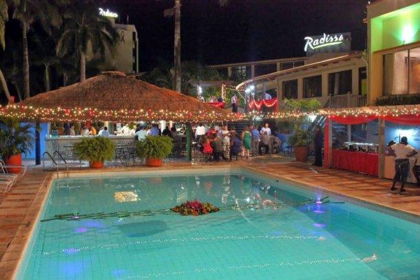 El lujoso hotel donde se hospedaba Samid