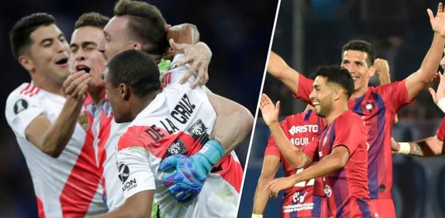 River vs Cerro Porteño por la ida de los cuartos de final de la Copa Libertadores